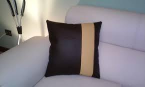 Cojines Decorativos En Semi Cuero 40x %calidad