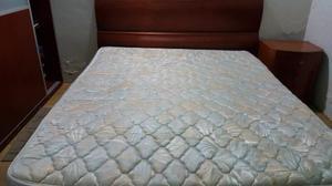 Juego De Cuarto Queen,espectacular,c/colchon,cama Reforzada