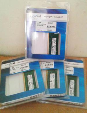 Memoria Ram Crucial 8gb (2 X 4gb) Ddrmhz