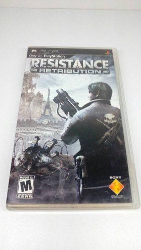 Set De Dos Juegos Original Psp Resistance Retribution Y Hero