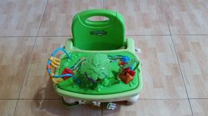 Silla de comer para fisher price rain forest posot class for Silla fisher price para comer