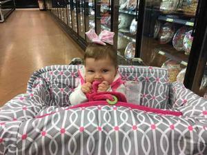 Boppy Cobertor Para Sillas De Comer O Supermercado