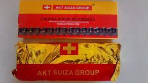 Cadena Super Reforzada Marca Akt Suiza 428h-128l