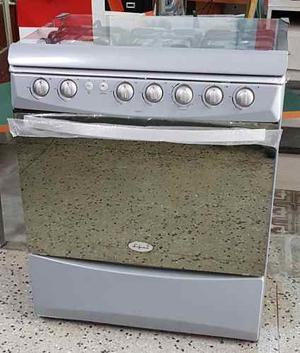 Cocina A Gas 6 Hornillas, Luferca, Modelo Assento,con Horno