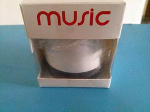 Corneta Portatil Cilindro Mini Music Usb Bluetooth
