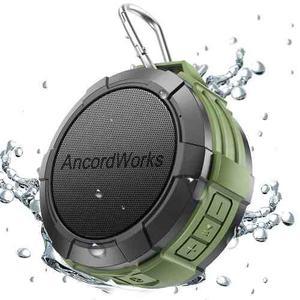 Corneta Portátil Bluetooth Resistente Al Agua + Tarjeta 8gb