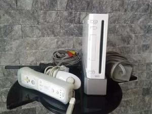 Nintendo Wii 1 Control, 1 Nuck + Juego Wii Sport Sin Chipear