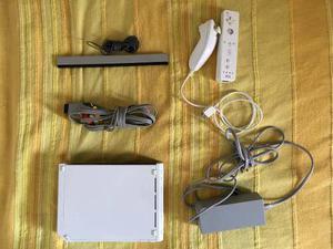 Nintendo Wii Con Control Y Poco Uso