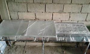 Reverberos Industrial 2 Hornillas + 2 Planchas