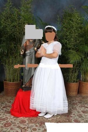 VESTIDO PARA NIÑAS PRIMERA COMUNIÓN