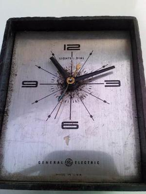 Antiguo Reloj Electrico General Electric
