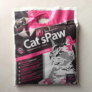 Arena Para Gatos Cats Paw 5kg Mascotas Animales