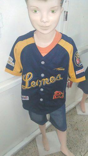 Camisa Leones Del Caracas Para Niños