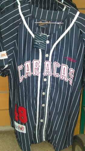 Camisa Leones Del Caracas Visitante