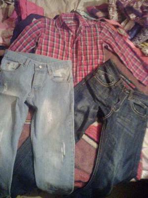 Camisa Y Jeans Para Niños