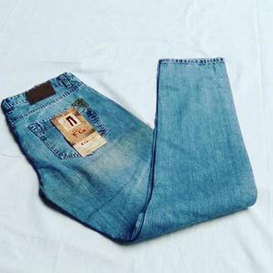 Jeans Slim Fit Masculino Hombre Actual Blue Jeans Strech