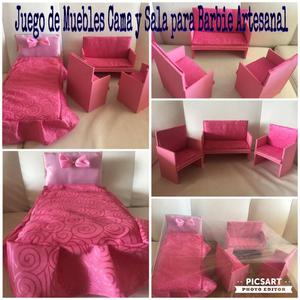 Muebles para casas de barbie posot class for Muebles para barbie