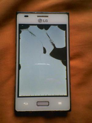 LG L5solo pantalla partida