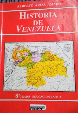 Libros de Historia de Venezuela y Lenguaje y Comunicacion