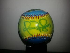 Pelota De Beisbol Firmada Por Omar Visquel