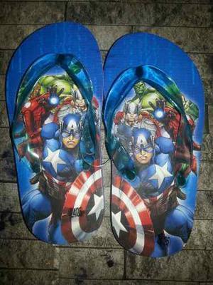 Sandalias Para Niños De Superheroe