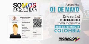 Tarjeta O Carnet De Movilidad Fronteriza Colombia