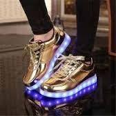 Zapatos Con Luces Led+usb Recargables