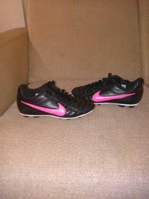 Zapatos Futbol Nike Tiempo Niños Tacos