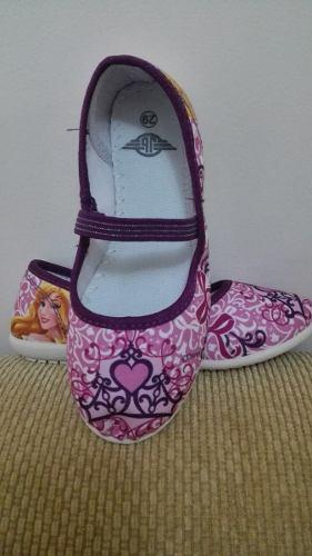 Zapatos Zapatillas De Niña Princesas Disney Talla 28 Y 29