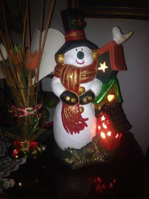 Adornos De Navidad En Cerámica Combo (no Envió)