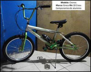 Bicicleta Cronos.marca Greco. Rin 20 Cross