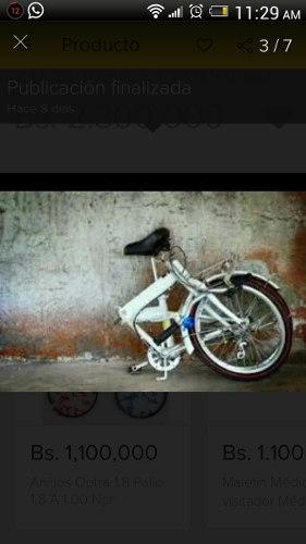Bicicleta Plegable Stareyes Rin 20 Importada