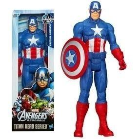 Capitan America Original De Hasbro 30cms Marvel Avengers