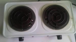 Cocina el ctrica 2 hornillas port til super posot class for Cocina electrica portatil