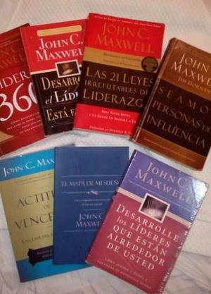 Colección Libros John C. Maxwell