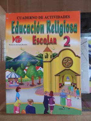 Cuaderno De Actividades Educación Religiosa 2 Edit