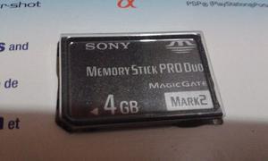 Electronica Memoria Adaptador Memory Stick Pro Duo 4 Giga