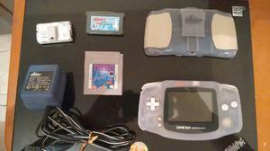 Game Boy Advance Con Accesorios + Juego Tetris Original.