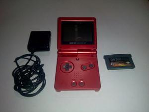 Game Boy Advance Sp Como Nuevo. Cargador Y 1 Juego. Remate