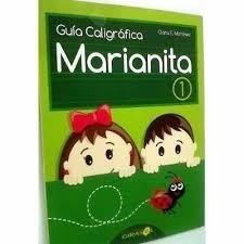 Guía De Caligrafía Marianita Inicial, 1ro A 6to Grado