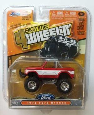 Jada Bigtime 4 Wheelin. Ford Bronco 73. Blister Abierto