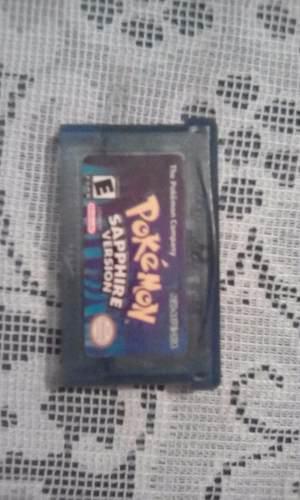 Juego De Pokemon Zafiro Para Gameboy Advance