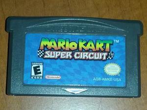 Juego Mario Kart Super Circuit Para Gameboy Advance
