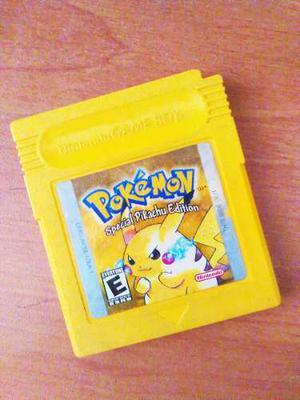 Juegos De Video Gameboycolor Original Amarillo, Azul Y Rojo