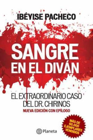 Libro, Sangre En El Diván De Ibéyise Pacheco.