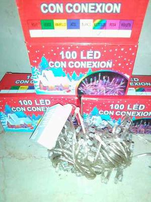 Luces Led Navideñas 100 Bombillos Led