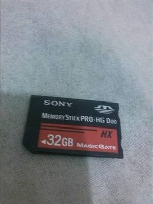 Memoria Sony Original Memory Stick Pro Hg Duo De 32 Gb