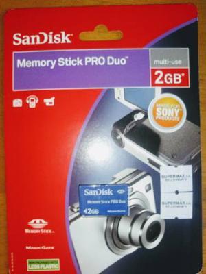 Memory Stick Pro Duo 2gb Multiuso