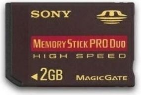 Memory Stick Pro Duo De 2 Gb Sony