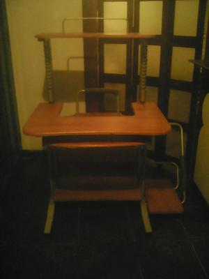 Mueble de madera para computadora e impresora | Posot Class - photo#31